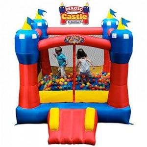 Blast Zone Magic Castle Inflatable Bounce