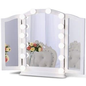 Chende Hollywood Style Lighting Fixture LED Vanity Mirror