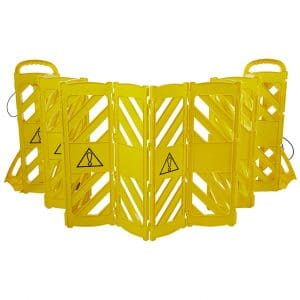 Mobile Plastic Expandable Barricade System