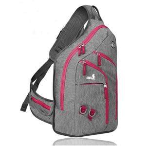 Plus Oversized Sling Backpack Men Women