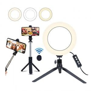 """Save your 8"""" Selfie Ring Light"""