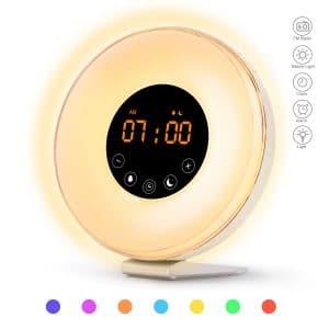 Sunrise Alarm Clock with Sunrise Sunset Simulation by Dalpong
