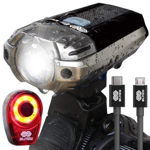 BLITZU Gator 390 USB Rechargeable LED Bike Light