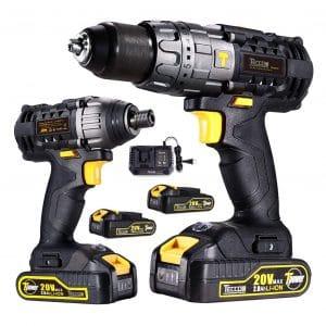 TECCPO TDCK01P Cordless Drill