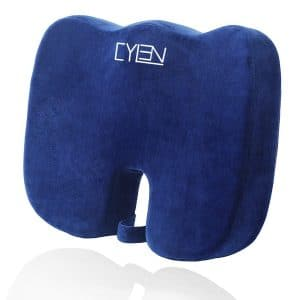 CYLEN -Memory Foam Bamboo Charcoal-Infused Seat Cushion