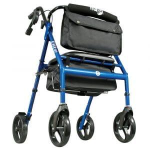 Hugo Elite Rollator Walker with Seat
