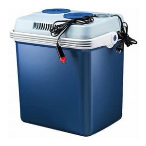 Knox Gear Electric Cooler and Warmer - 27 Quart (Blue)