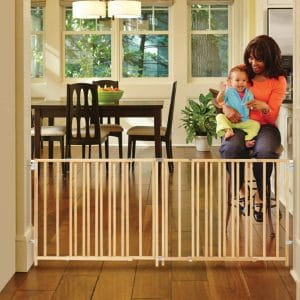 """North States 103"""" Wide Extra-Wide Swing Baby Gate"""
