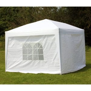 Palm Springs 10 x 10 WHITE EZ Pop Up Canopy