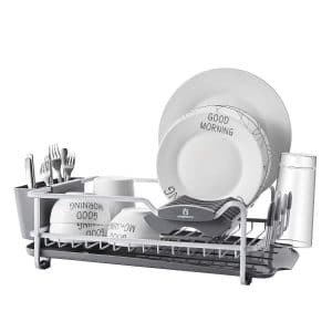 Kingrack -Aluminum Dish Rack Anti-scratch with Expandable Over the Sink (112040)