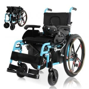 Dragon-Hub Electric Portable Wheelchair Fully Automatic Folding Electric Wheelchair