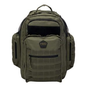 HSD Diaper Bag Backpack (Ranger Green)