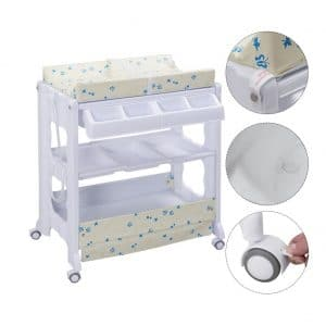 Infant Baby Bath and Changing Center