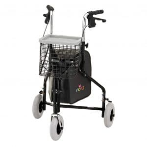NOVA Traveler 3 Wheel Rollator Walker
