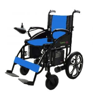 7. Alton Medical Folding Lightweight Electric Wheelchairs for Adults