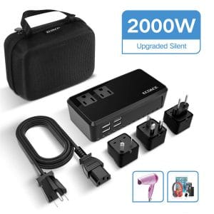 ECOACE 2000W Upgraded Voltage Converter