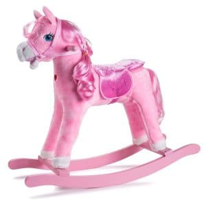 JOON Princess Pink Rocking Horse Pony