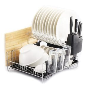 PremiumRacks 304 Stainless Steel Professional Dish Rack