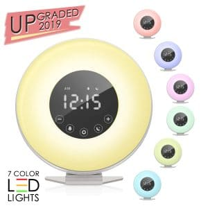 Sunrise Alarm Clock by KBS