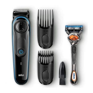 Braun BT3040 Men's Beard Trimmer and Ultimate Hair Clipper with 39 Length Settings