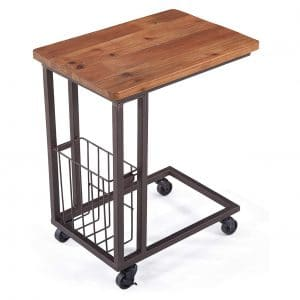 Care Royal Vintage-Mobile Snack-End Side C-Table