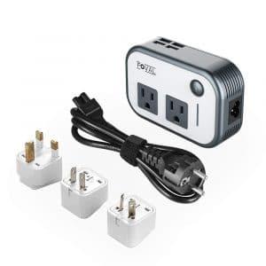 Foval Power Step Down Voltage Converter for UK, European Etc