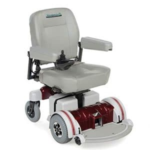 8. Hoveround Motorized Power Chair Electric Wheelchair with 20-inch Adult Seat