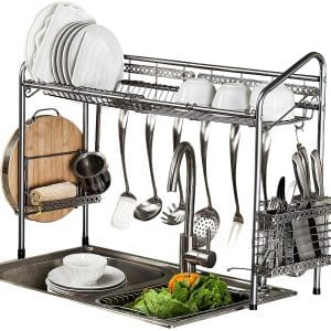 PremiumRacks Professional over Large Capacity Sink Dish Rack