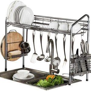 PremiumRacks Professional over Large Capacity Sink Dish Rack