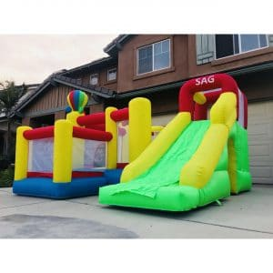 SAG Collection Inflatable Bouncy Slider