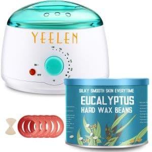 Yeelen Wax Warmer Kit with 5 Wax Collars