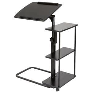 DOEWORKS Laptop Desk Height Adjustable Tray Side Table for Bed