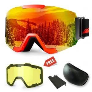 Extra Mile Ski Snowboard Snow Goggles