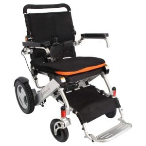 F KD FoldLite Safe Lithium Battery Electric Wheelchair