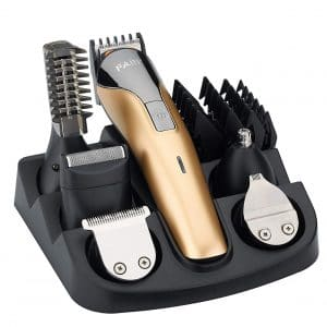 FARI All In One Rechargeable Electric Hair Multifunctional Trimmer Grooming Kit