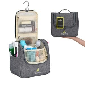 HIKENTURE Travel Hanging Toiletry Bag