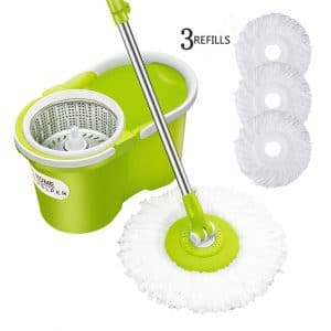 HomeHelper 360 Spin Mop & Bucket System