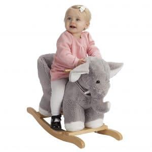 ROCK MY BABY Rocking Elephant Toy