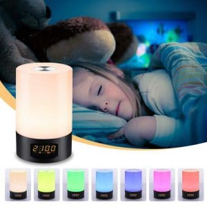 SOLMORE LED Wake up Light Alarm