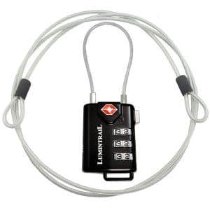 TSA Approved Cable Luggage Locks