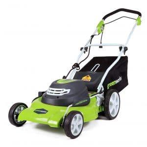 Greenworks Corded Lawn Mower