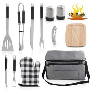 Grilljoy BBQ Grill Accessories Tool Set