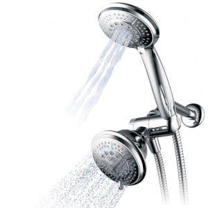Hydroluxe 1433 Handheld Showerhead & Rain Shower Combo