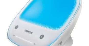 Philips goLITE HF3429/60 BLU Energy Rechargeable Light Therapy Lamp