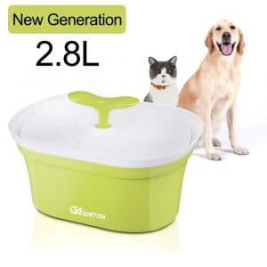Gizantion Pet Fountain Cat Water Dispenser 2.8 L