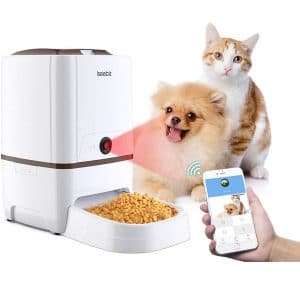 Iseebiz Automatic Pet Feeder with Camera