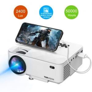 T TOPVISION 2400Lux Mini Projector