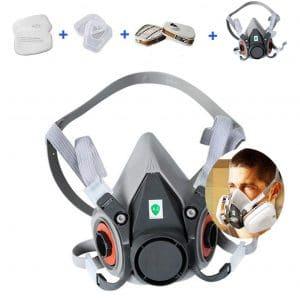 YLO 7 In 1 Half Facepiece Reusable 6200 Respirator