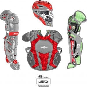 All-Star System7 Axis Camo Pro Youth Catchers Set