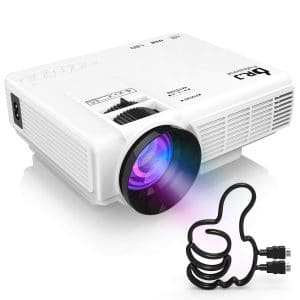 DR. J Professional [Latest Upgrade] HI-04 Mini Projector